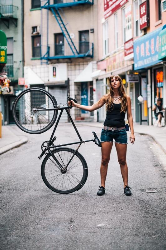 NYC Bike Babe