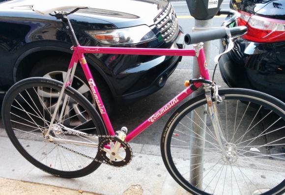 Pink Tommasini Single Speed Bike
