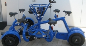 The ConferenceBike in Blue