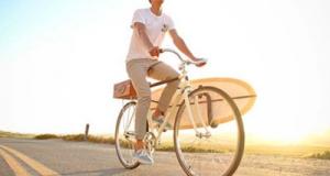 Surfer Bike Bro