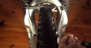 Embedded thumbnail for Fix Hybrid / Mountain Bike V-Brakes That Are Rubbing
