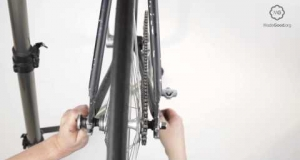 Embedded thumbnail for Properly Tension the Chain on Fixed Gear or Single Speed Bicycle
