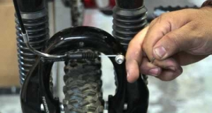 Embedded thumbnail for Mountain Bike V-Brake Adjustment