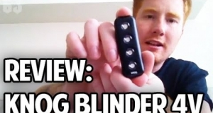 Embedded thumbnail for Review of Knog Blinder 4V Rechargeable Bike Light